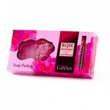 "Gift set ""Rose of Bulgaria""- soap and parfum 2,1 ml"