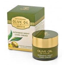 Intensive night care cream for normal to dry skin Olive Oil of Greece