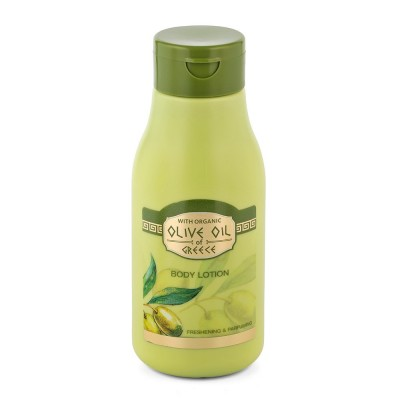 Body lotion freshening & parfuming Olive Oil of Greece