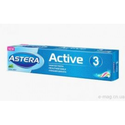 Toothpaste ASTERA ACTIVE 3, 50 ml