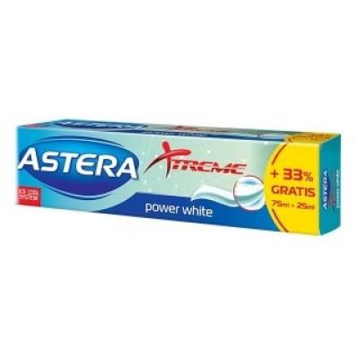 Toothpaste ASTERA XTREME Power White, 100 ml