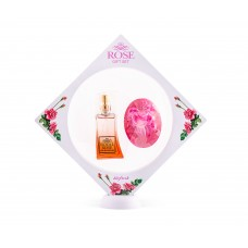 "Gift set ""Royal Rose""- PERFUME AND GLYCERIN SOAPS"
