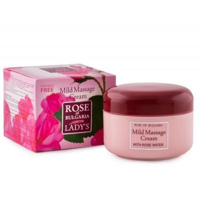 """Massage cream """"Rose of Bulgaria"""""""