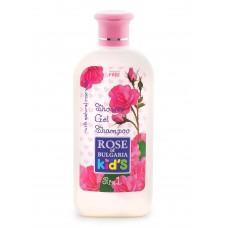 """Shower gel - shampoo for children """"Rose of Bulgaria"""""""
