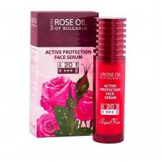 """Protecting face serum SPF 20 """"Regina Roses"""""""