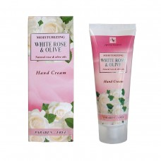 "Moisturizing hand cream ""White Rose and Olive"", 75ml."
