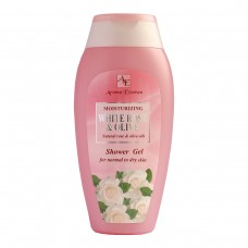 "Shower gel ""WHITE ROSE AND OLIVE"" , 250 ml."